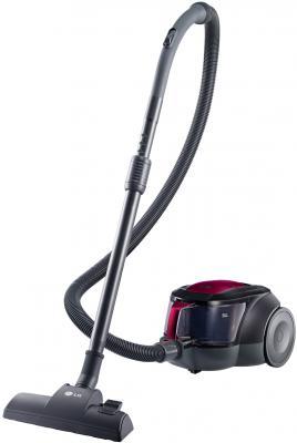 Пылесос LG V-K706W02NY без мешка сухая уборка 2000Вт черно-красный
