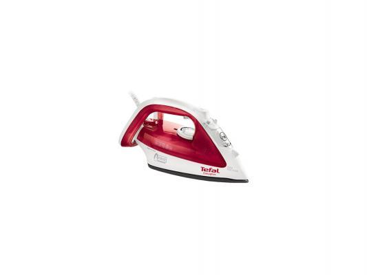 Утюг Tefal FV3922E0 2300Вт бело-красный аудиомагнитола bbk bs01 черный серебристый bs01 черный серебристый