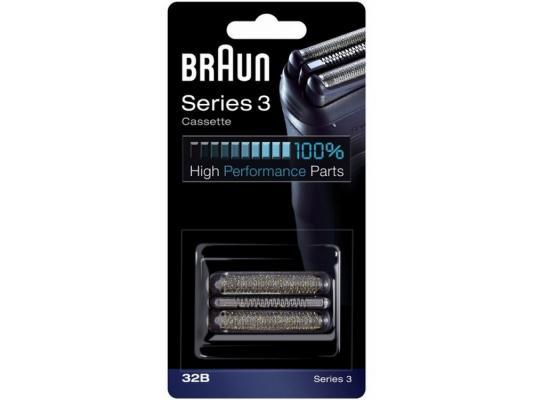 Сетка и режущий блок Braun Series 3 32B аксессуар braun series 2 cruzer 20s сетка и режущий блок