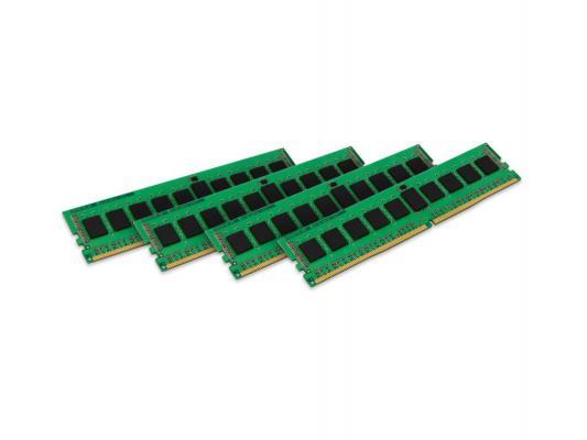 Оперативная память 16Gb (4x4Gb) PC4-17000 2133MHz DDR4 DIMM CL15 Kingston KVR21R15S8K4/16