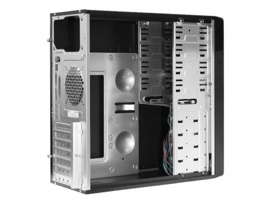 Корпус ATX Delux DLC-MV871/DC871 Без БП чёрный красный