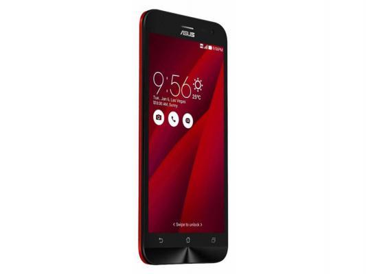 Смартфон ASUS Zenfone 2 Laser ZE500KL красный 5 16 Гб LTE Wi-Fi GPS 3G 90AZ00E3-M01210 zenfone 2 laser
