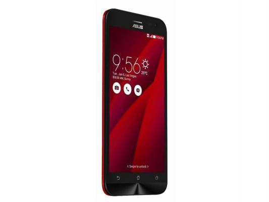 "Смартфон ASUS Zenfone 2 Laser ZE500KL красный 5.5"" 16 Гб LTE Wi-Fi GPS 90AZ00L3-M00490"