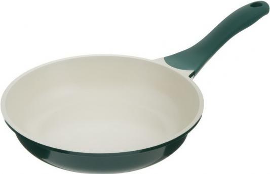 Сковорода BIOSTAL Bio-FP-20 зелен/беж 20 см алюминий