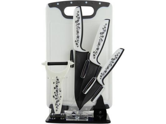 Набор ножей Winner WR-7318 6 предметов циркониевая керамика torres pl50392
