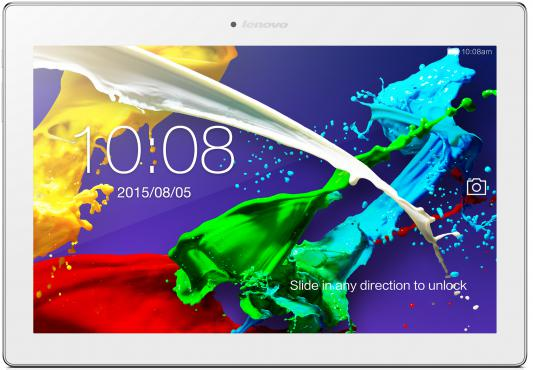 "Планшет Lenovo TAB 2 A10-70L 10.1"" 16Gb белый Wi-Fi 3G Bluetooth LTE Android ZA010001RU"