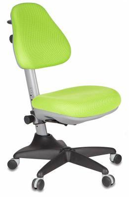 Кресло детское Бюрократ KD-2/G/TW-18 салатовый кресло детское бюрократ kd 7 на колесиках ткань голубой [kd 7 tw 55]