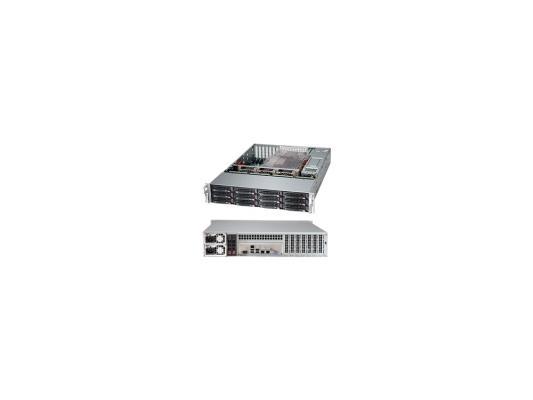 Серверный корпус 2U Supermicro CSE-826BE1C-R920LPB 920 Вт чёрный cse 826be1c r741jbod