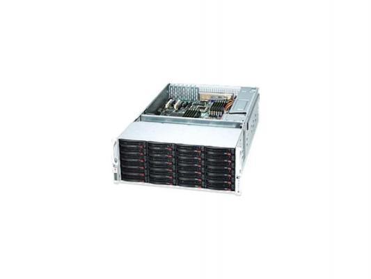 "��������� ��������� Supermicro SSG-6048R-E1CR24H 4U 2xLGA2011 16xDDR4 24x3.5"" SAS/SATA 2xGigabit Ethernet 920��"