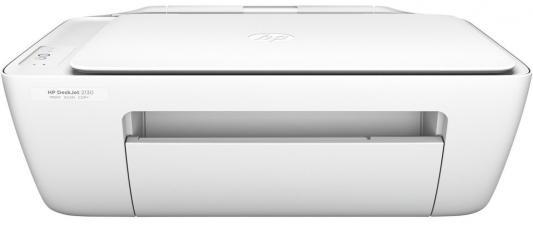 МФУ HP DeskJet 2130 K7N77C цветное A4 7.5/5.5ppm 1200x1200dpi USB мфу hp deskjet 2130 all in one k7n77c