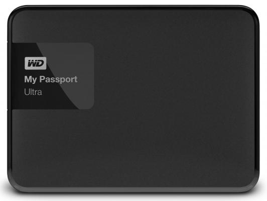 "Внешний жесткий диск 2.5"" USB3.0 3 Tb Western Digital My Passport Ultra WDBNFV0030BBK-EEUE черный"