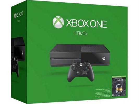 Игровая приставка Microsoft Xbox One 1Tb черный 5C6-00061