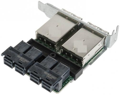 Переходная плата SuperMicro AOM-SAS3-16I16E переходная плата supermicro aom sas3 16i16e ext to int mini sas hd adapter full profile