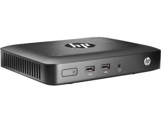 Тонкий клиент HP t420 2Gb 16Gb SSD Win7EM клавиатура мышь черный M5R76AA