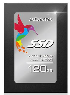 Твердотельный накопитель SSD 2.5 120GB A-Data 550 Read 560Mb/s Write 510Mb/s SATAIII ASP550SS3-120GM-C