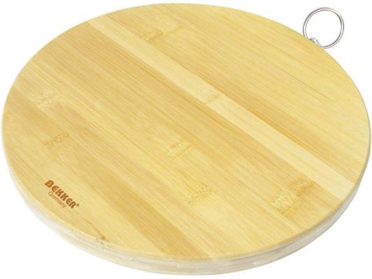 Доска разделочная Bekker BK-9703 30x2 бамбук доска разделочная бамбук 37х16х2см bekker bk 9719