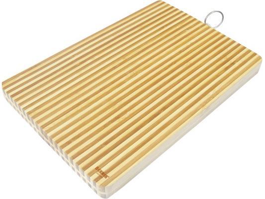 Доска разделочная Bekker BK-9705 34х24х2 бамбук доска разделочная bekker bk 9702 25x2 бамбук