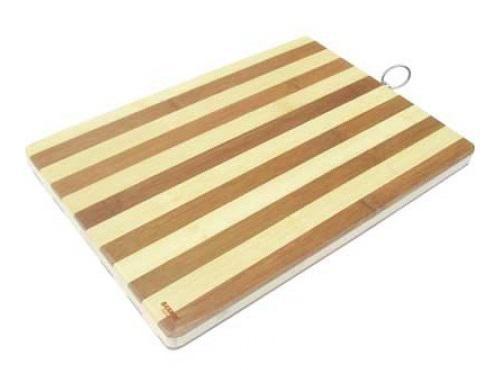 Доска разделочная Bekker BK-9708 40х30х2 бамбук доска разделочная bekker bk 9725 25х25x1 8 бамбук