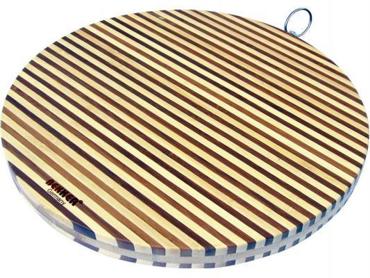 Доска разделочная Bekker BK-9709 30х2 бамбук доска разделочная bekker bk 9700 30x20x2 бамбук