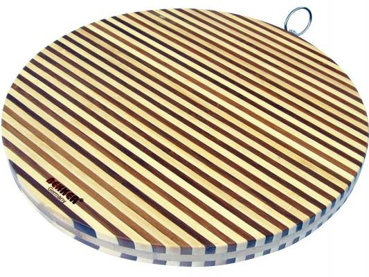 Доска разделочная Bekker BK-9710 35х2 бамбук доска разделочная bekker bk 9700 30x20x2 бамбук