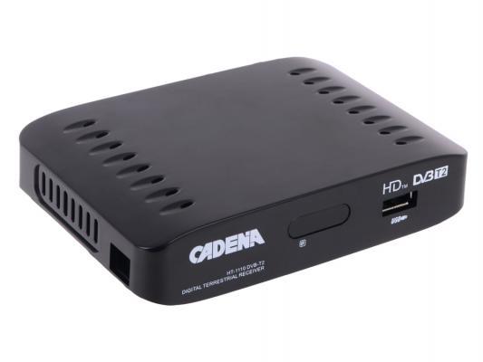Тюнер цифровой DVB-T2 Cadena HT-1110