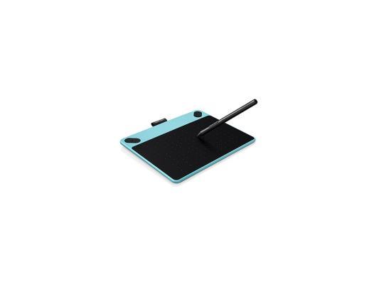Графический планшет Wacom Intuos Draw Pen S CTL-490DB-N черно-голубой USB