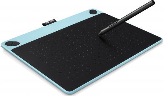 все цены на Графический планшет Wacom Intuos Art PT M CTH-690AB-N черно-синий USB онлайн