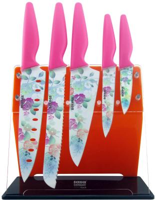 Набор ножей Bekker BK-8446 6 предметов bekker чайный сервиз bekker bk 7145 15 предметов ihygxrd