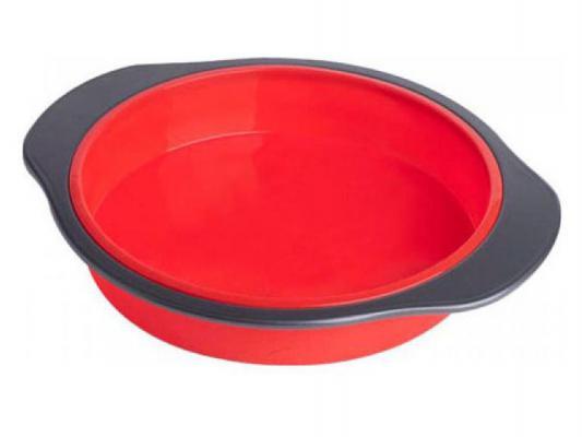 Форма для выпечки Bekker BK-9435 круглая с каркасом черно-красный
