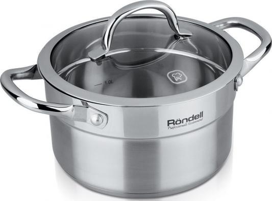 все цены на Кастрюля Rondell Creative RDS-388 5.4 л 24 см онлайн