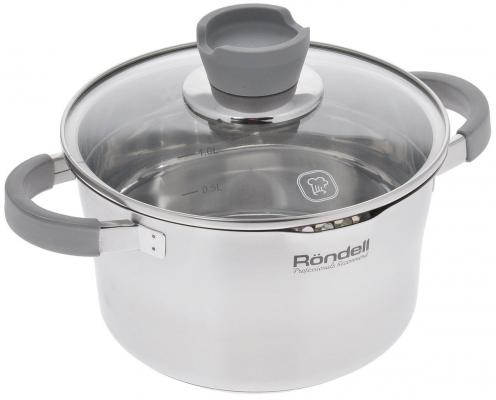 Кастрюля Rondell RDS-740 2.4 л 18 см кастрюля rondell rds 342 2 л 18 см