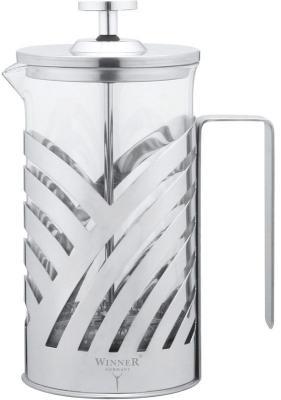 лучшая цена Френч-пресс Winner WR-5202 серебристый 0.6 л металл/стекло