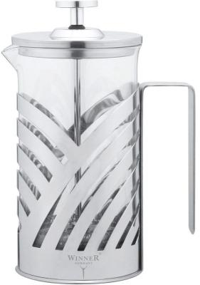 Картинка для Френч-пресс Winner WR-5202 серебристый 0.6 л металл/стекло