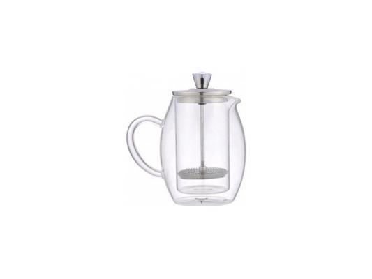 лучшая цена Френч-пресс Winner WR-5216 серебристый прозрачный 0.6 л металл/стекло