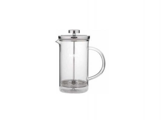 Френч-пресс Bekker BK-379 серебристый прозрачный 0.8 л металл/стекло
