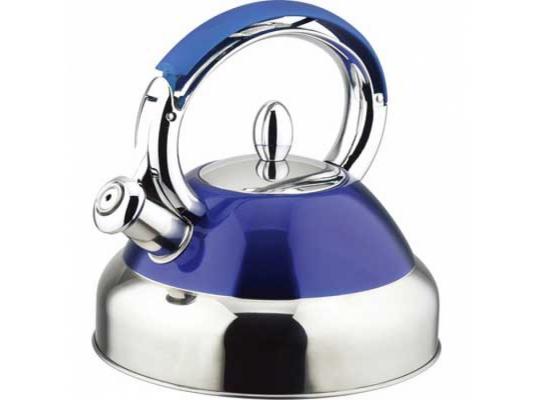 Чайник Bekker BK-S429 2.7 л нержавеющая сталь серебристый синий
