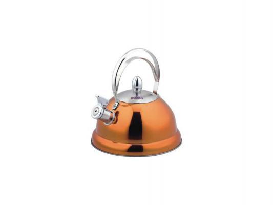 Чайник Bekker BK-S427 2.6 л нержавеющая сталь оранжевый