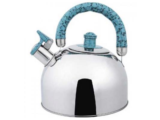 Чайник Bekker BK-S307M 2.5 л нержавеющая сталь серебристый чайник заварочный bekker 303 вк серебристый 0 9 л металл пластик