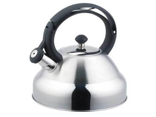 Чайник Bekker De Luxe BK-S403 2.7 л нержавеющая сталь серебристый чайник заварочный bekker de luxe 387 bk серебристый 0 8 л металл стекло