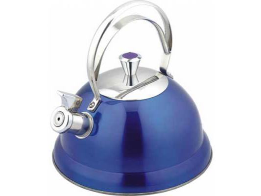 Чайник Bekker BK-S440 2.6 л нержавеющая сталь синий