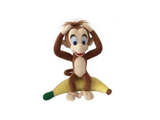Мягкая игрушка обезьянка Fluffy Family Добытчик Арчи плюш коричневый 30 см бур sds max makita 28х250х370мм zentro p 77964