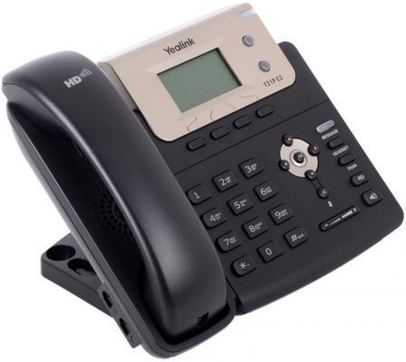 Телефон IP Yealink SIP-T21P E2 2 SIP-аккаунта 2x10/100Mbps 2.3 LCD PoE BLF телефон voip yealink sip t21p e2 sip телефон 2 линии poe