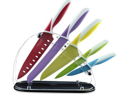 Набор ножей Winner WR-7328 6 предметов нержавеющая сталь набор ножей 6 шт winner набор ножей 6 шт