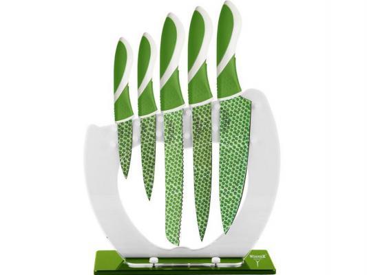 Набор ножей Winner WR-7339 6 предметов нержавеющая сталь набор ножей 6 шт winner набор ножей 6 шт