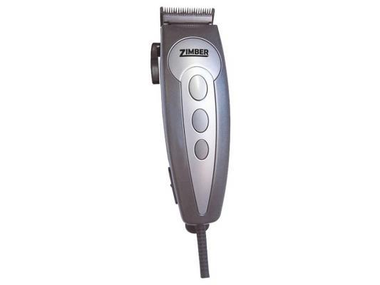 Машинка для стрижки волос Zimber ZM-10038 серебристый