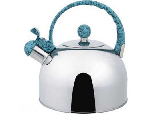 Чайник Bekker BK-S307 2.5 л нержавеющая сталь серебристый чайник заварочный bekker 303 вк серебристый 0 9 л металл пластик