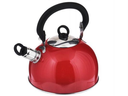 Картинка для Чайник Bekker BK-S319M красный 2.5 л нержавеющая сталь