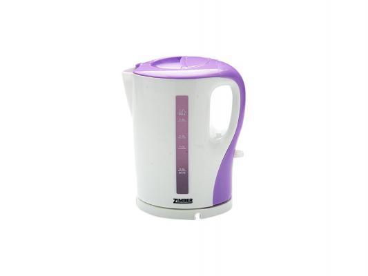 Чайник Zimber ZM-10860 2200 Вт 1.7 л пластик белый