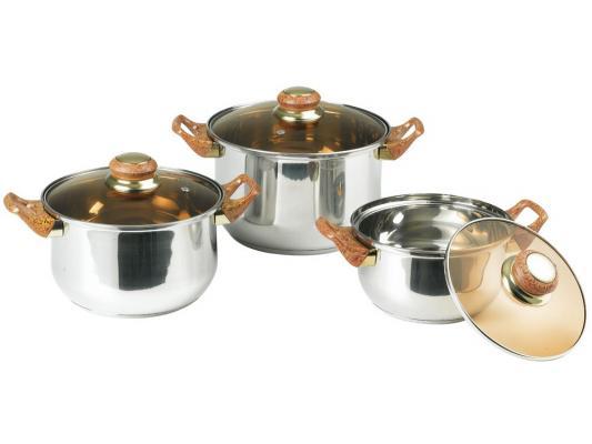 Набор посуды Bekker Classic BK-951 6 предметов набор посуды bekker classic 9 предметов bk 4605