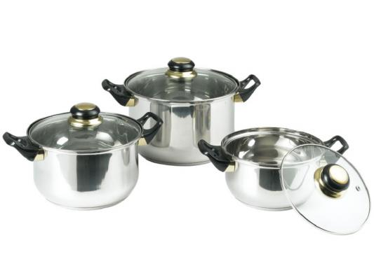 Набор посуды Bekker Classik BK-950 6 предметов набор посуды bekker jumbo вк 962